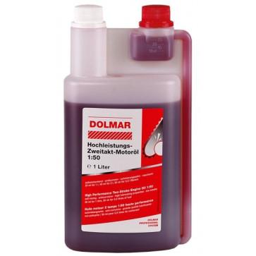 DOLMAR Hochleistungs-Zweitakt-Motoröl 50:1 1-l-Dosierflasche