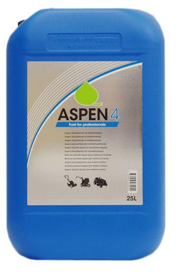 25 Liter ASPEN 4T Sonderkraftstoff für Rasenmäher