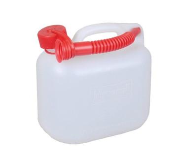 5 Liter Kanister transparent