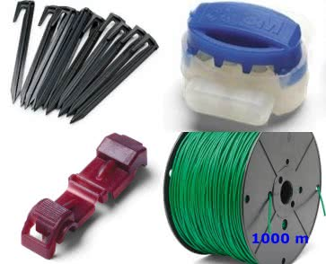"Husqvarna Installations-Kit ""XL"" 1000 m Kabel 3,4 mm"
