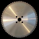 JEPSON 255 mm / 66 Zähne HM Kreissägeblatt für Stahl dünnwandig