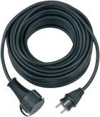 Brennenstuhl Verlängerungskabel IP44 10m H05RR-F 3G1,5 Schwarz