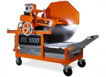 GÖLZ BS 900 / 1000 Blocksteinsäge 400 Volt