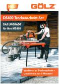 GÖLZ DS400 Trockenschnittsatz für Steinsägen