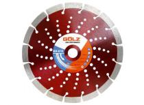 GÖLZ GX-U12 Diamanttrennscheibe 230 mm für Beton, Klinker, Ziegel 25 Stück