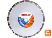 GÖLZ RX1S 400 mm Diamanttrennscheibe für Beton, Klinker, Ziegel
