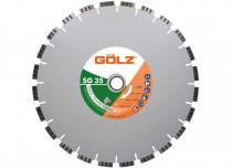 GÖLZ SG 35 Diamanttrennscheibe 400 mm für Granit