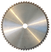 JEPSON 255 mm / 60 Zähne HM Kreissägeblatt für Stahl