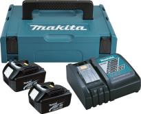 MAKITA Power Source KIT mit 2 x 3,0 Ah Akku und DC18RC