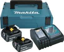 MAKITA Power Source KIT mit 2 x 5,0 Ah Akku und DC18RC