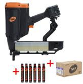 TJEP PQZ-75 Gas 3G Klammergerät Power Set