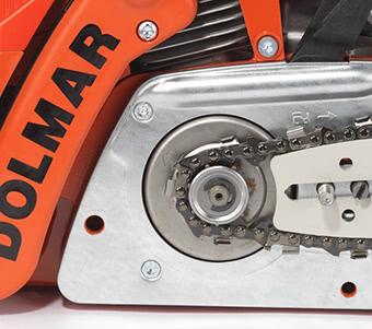 PS 420 DOLMAR Benzin Kettensäge Außenliegendes Kettenrad