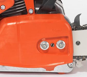 PS 420 DOLMAR Benzin Kettensäge Seitliche Kettenspannung der Sägekette